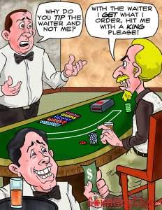 Tipping the casino dealer