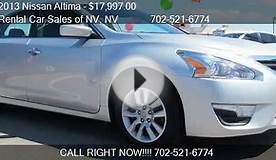 2013 Nissan Altima 2.5 - for sale in Las Vegas, NV 89103
