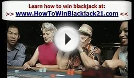 Best Way to Win at Blackjack Tips - Playing Blackjack to Win