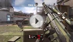 Black Ops 2 Online Multiplayer Sniper Quick Scope Montage