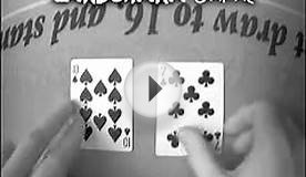 Blackjack Dealer Hole Card Switch: Casino Cheating Move