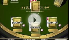 Play Blackjack Scratch Cards at Casino.com