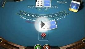 Blackjack Single Deck Gameplay