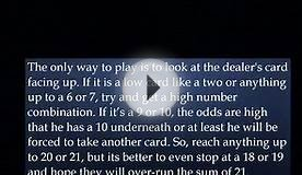 Blackjack - Strategy How to Play and Win