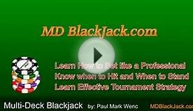 Blackjack - strategy Multi-deck Blackjack Book