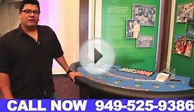 Blackjack Table Rentals Orange County California (949) 525