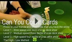 Counting Cards - Black Jack - 21 (So You Think You Can