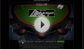Demonstrationsfilm Single-deck Blackjack - Patrik