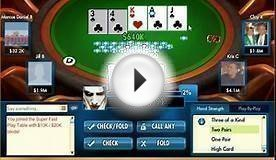 Double Down Casino How to play poker. Day 9 Part 1