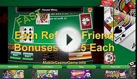 FREE MOBILE BLACKJACK with £5 NO DEPOSIT BONUS