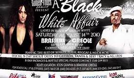 "Golden Touch Ent. ""Black & White Affair"" This Saturday Aug"