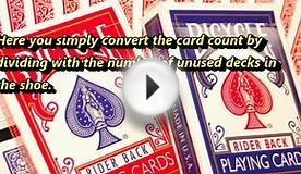 How to Count Cards in Blackjack - High Low Card Counting