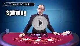 How to Play Blackjack - Doubling Down & Splitting