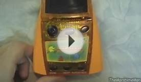 MGA Color FX2 Pac-Man handheld game (2001)