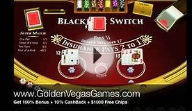 Play Free Blackjack Switch .GoldenVegasGames.com