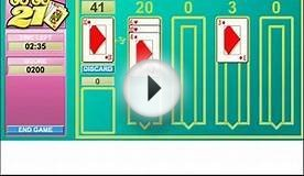 Play GoGo 21 Online - Card, Solitaire Game
