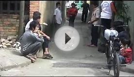 Playing Cards with Shoes, a Street Game.mov