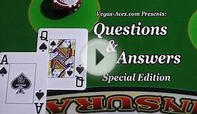 Q&A005: Special - The Blackjack Strategy Guide