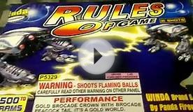 Rules Of Game 500 gram cake by Winda Fireworks demo and review