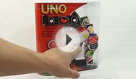 Uno Roboto - The Interactive WILD Card Game, Mattel Toys